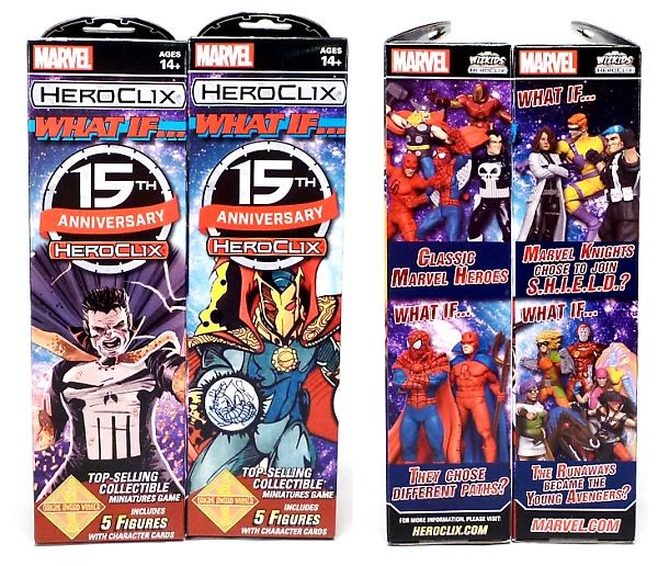 Wizkids Marvel Heroclix: 15th Anniversary What if...