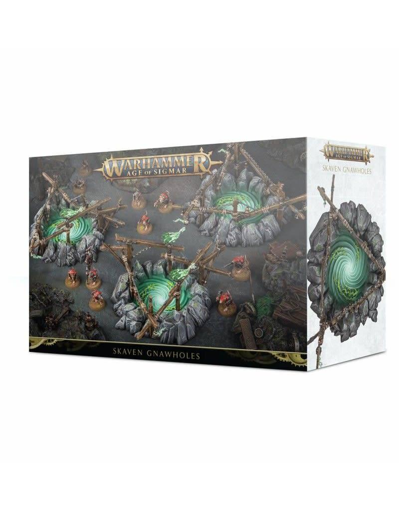 Games Workshop Warhammer Sigmar Skaven Gnawholes