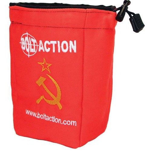 Warlord games Bolt Action: Soviet Dice Bag & Action Dice