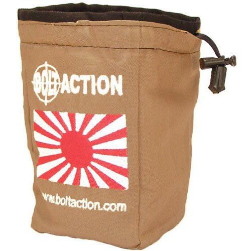 Warlord games Bolt Action: Imperial Japanese- Dice bag & action dice
