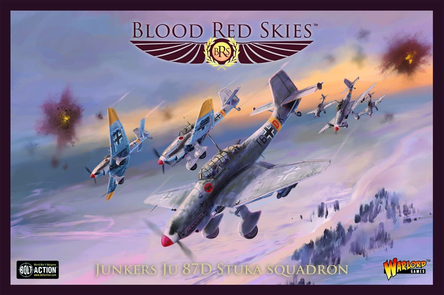 Warlord games Blood Red Skies: German- Junkers JU 87D Stuka Squad