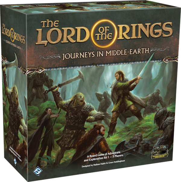 Fantasy Flight Lord of the Rings Journeys in Middle Earth adventure game