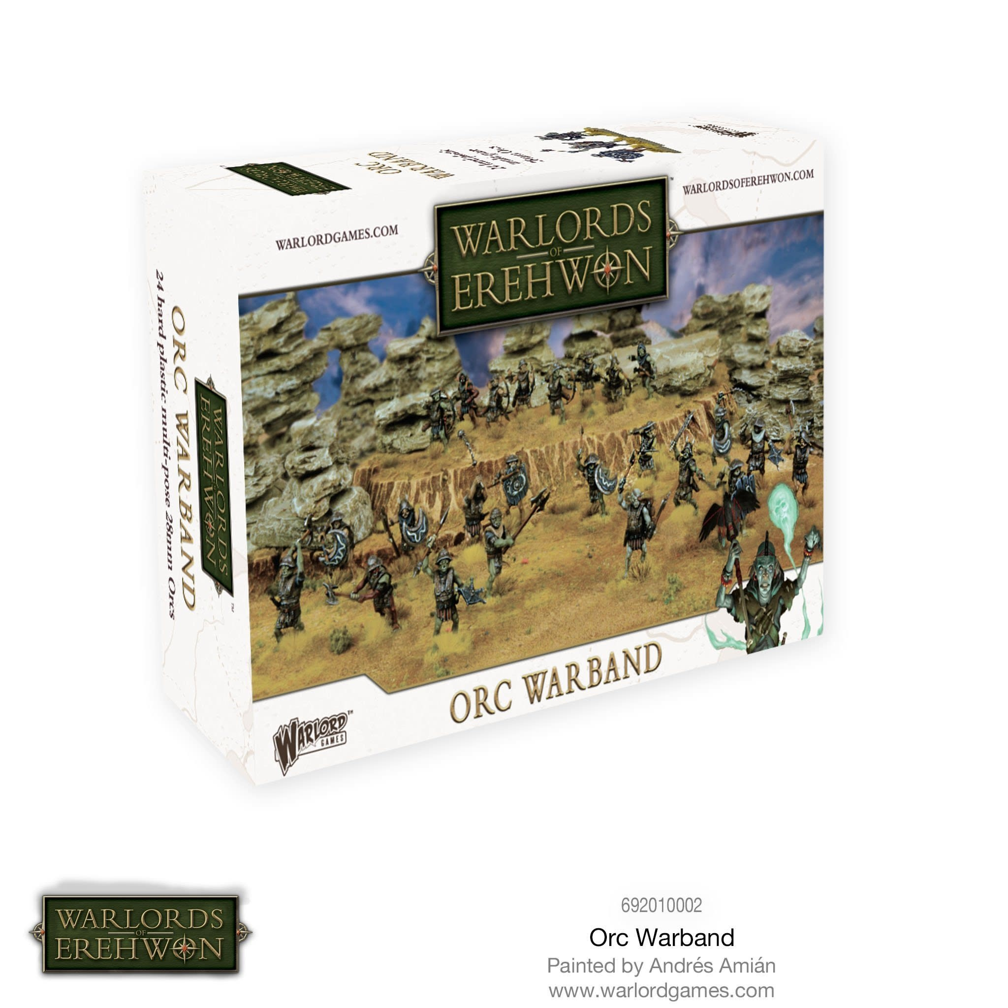 Warlord games Warlords of Erehwon: Orc Warband