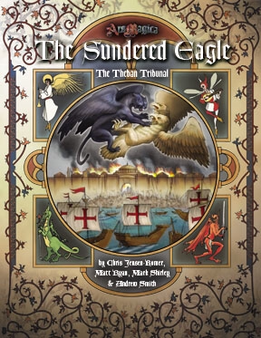 Atlas games Ars Magica RPG: The Sundered Eagle, The Theban Tribunal