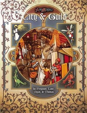 Atlas games Ars Magica RPG: City & Guild Softcover