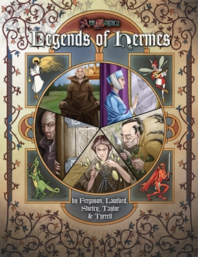 Atlas games Ars Magica RPG: Legends of Hermes