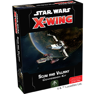 Fantasy Flight Star Wars X-Wing: Scum and Villainy Conversion Kit