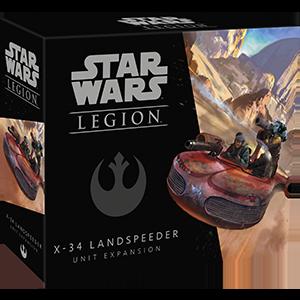 Fantasy Flight Star Wars Legion: X-34 LandSpeeder Unit