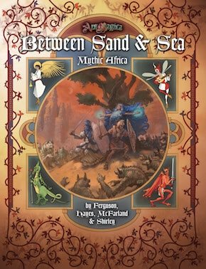 Atlas games Ars Magica RPG: Between Sand & Sea, Mythic Africa