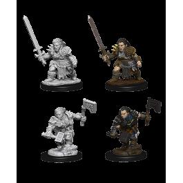 Wizkids Pathfinder Miniature: Female Dwarf Barbarian