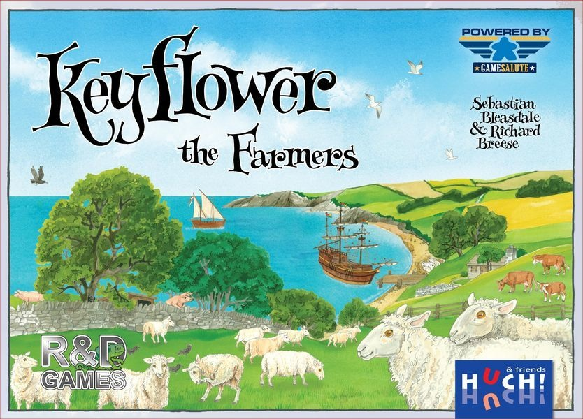R & d games Keyflower: The Farmers