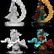 Wizkids Pathfinder Miniature:  Gnome Female Sorcerer