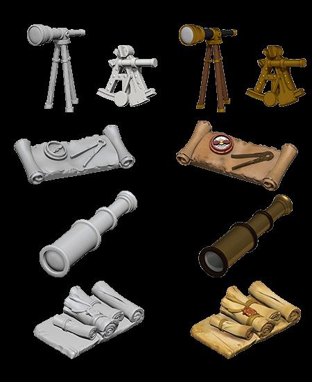 Wizkids D&D Deep Cuts Miniature: Navigators Pack
