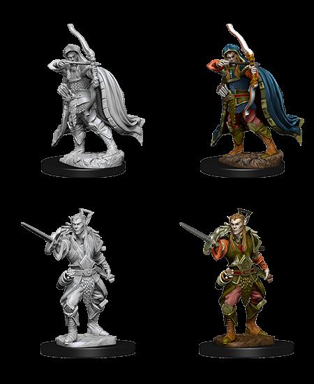 Wizkids D&D Nolzurs Miniature: Male Elf Rogue
