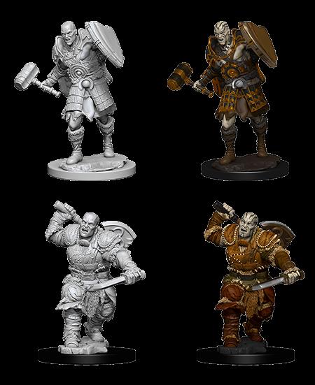 Wizkids D&D Nolzurs Miniature: Goliath Fighter