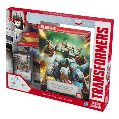 Wizards of the Coast Transformers CCG: Metroplex deck