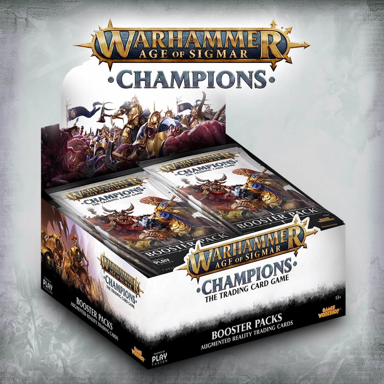 Games Workshop Warhammer CCG Chapions booster