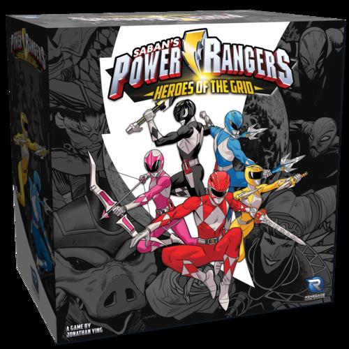 Renegade Power Rangers Heroes of the Grid