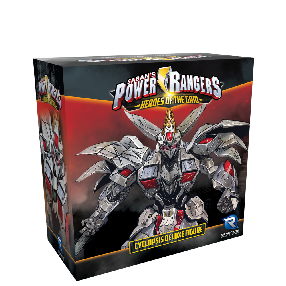 Renegade Power Rangers: Cyclopsis Deluxe Figure