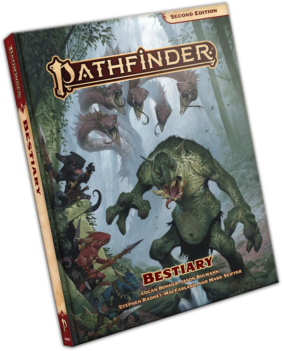 Paizo Pathfinder RPG: Bestiary Book