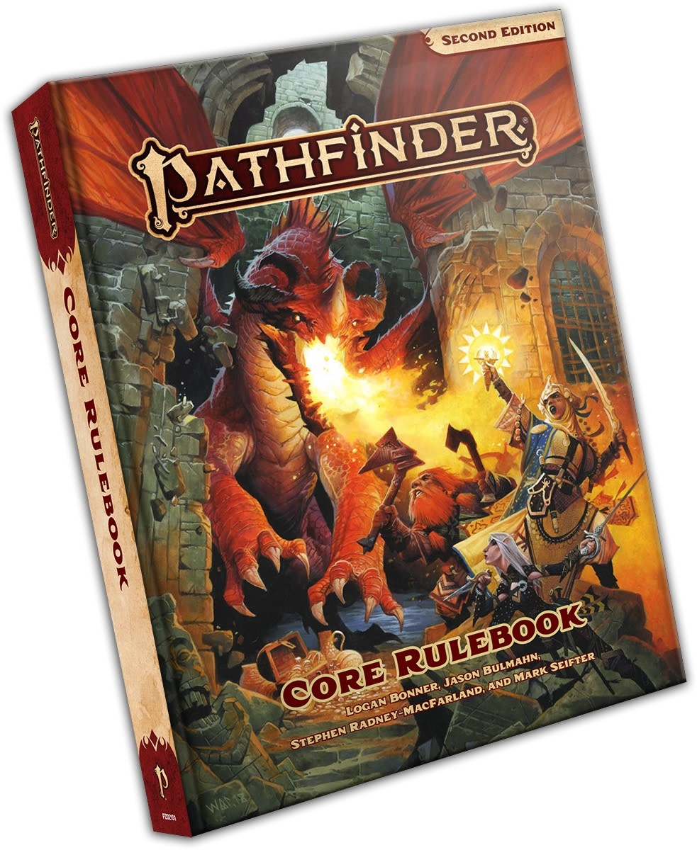 Paizo Pathfinder 2nd ed: Core Rulebook