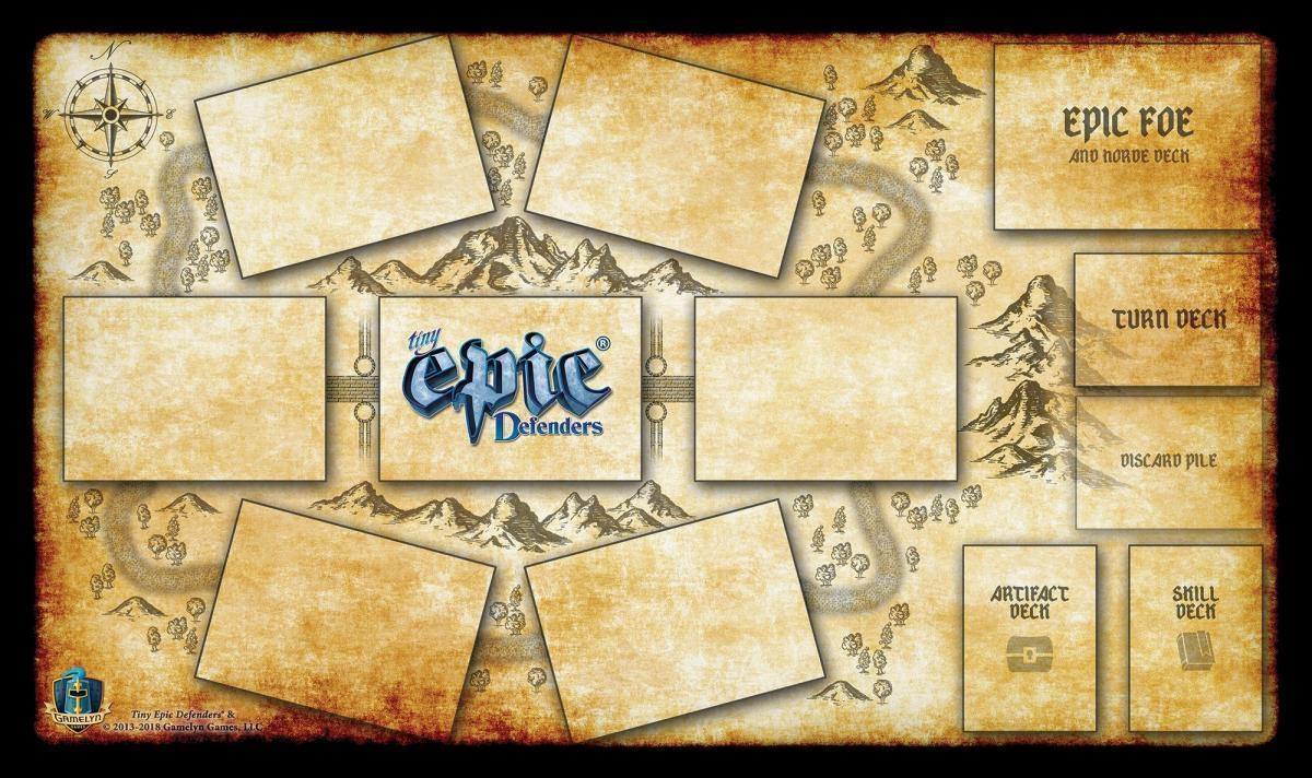 Gamelyn Tiny Epic Defenders Game Mat
