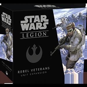 Fantasy Flight Star Wars Legion: Rebel Veterans