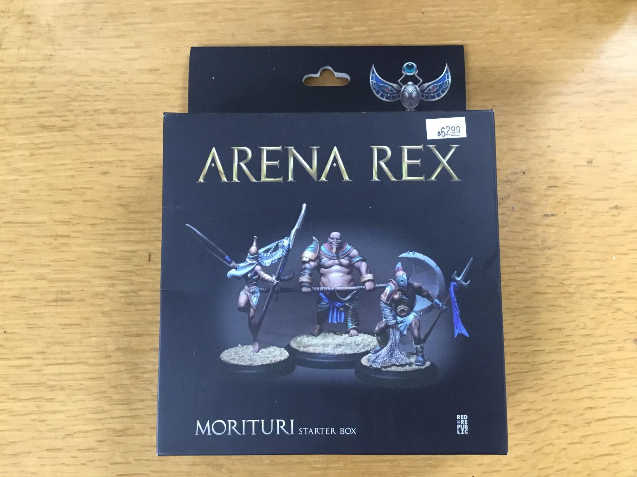 Red republic Arena Rex: Morituri Starter Box