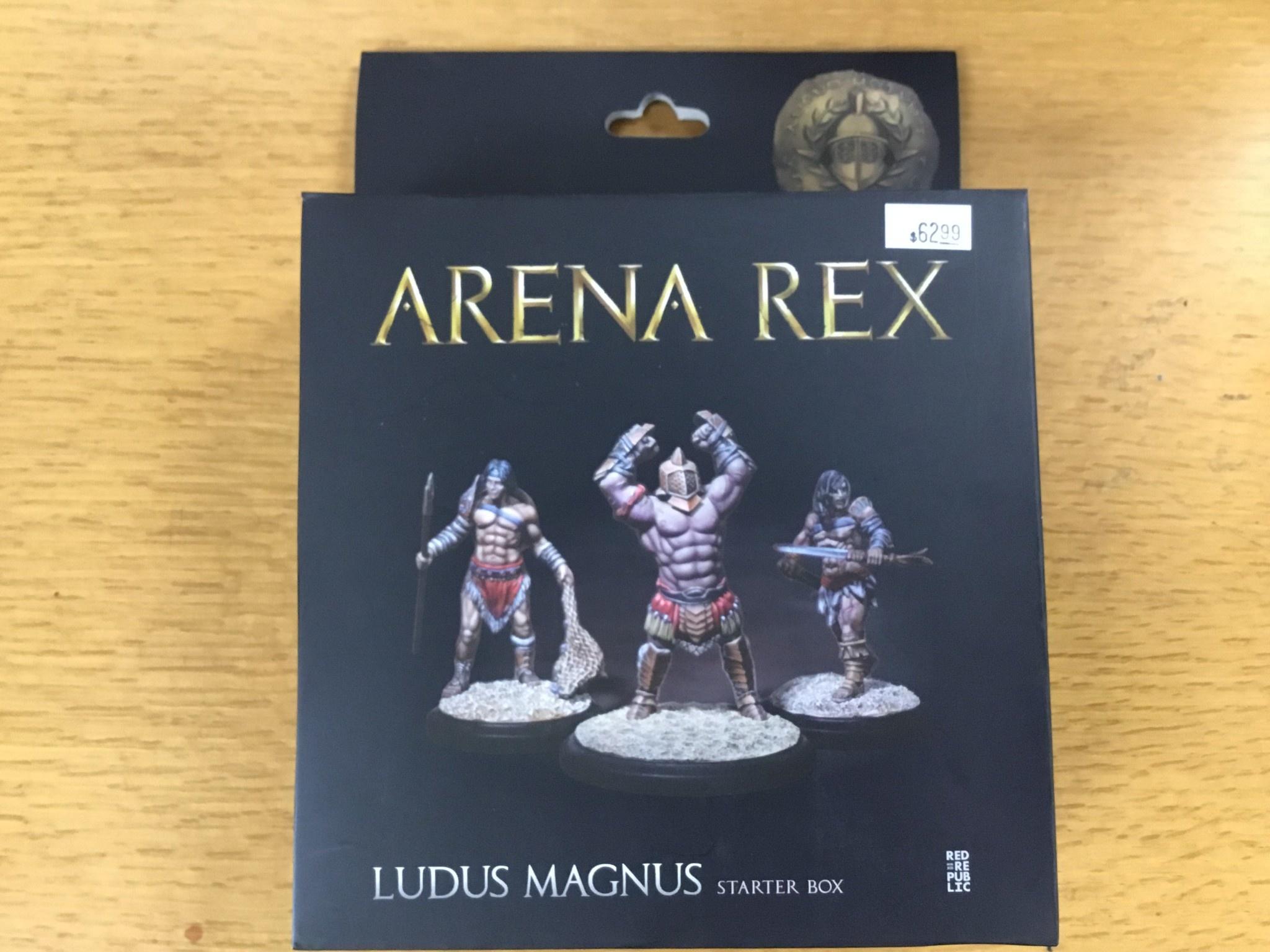 Red republic Arena Rex: Ludus Magnus Starter Box