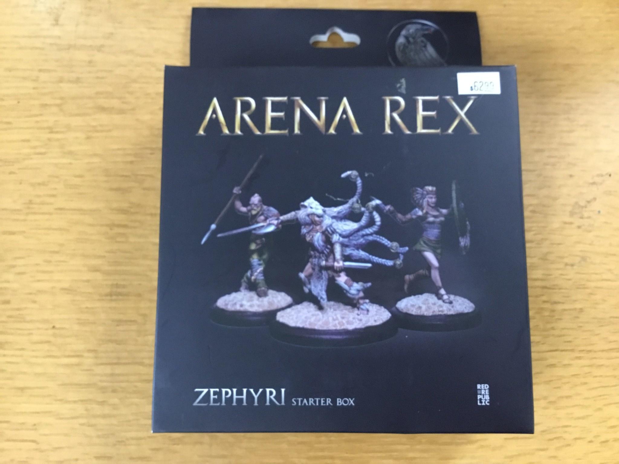 Red republic Arena Rex: Zephyri Starter Box