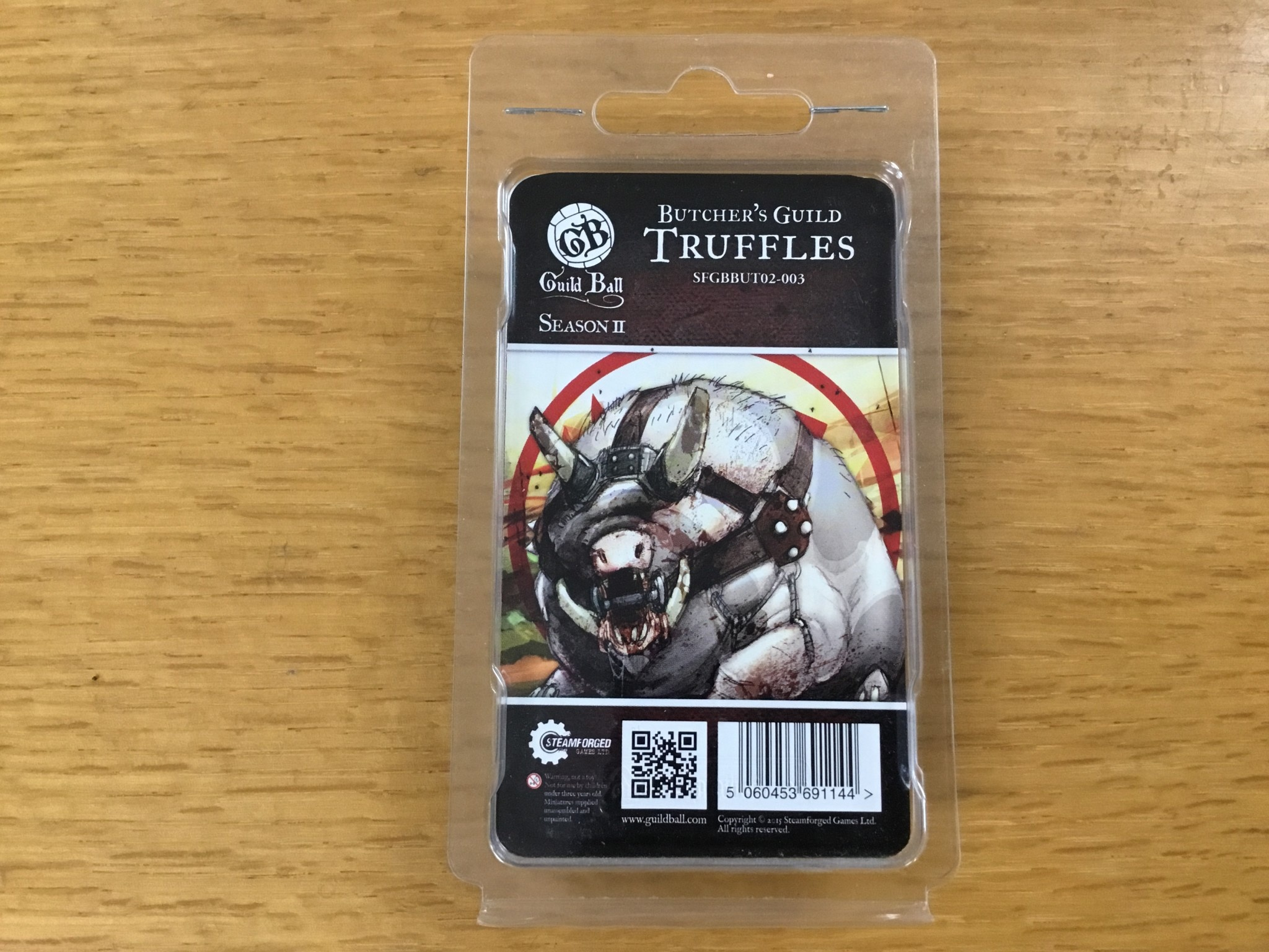 Steamforged GuildBall: Butchers Guild- Truffles
