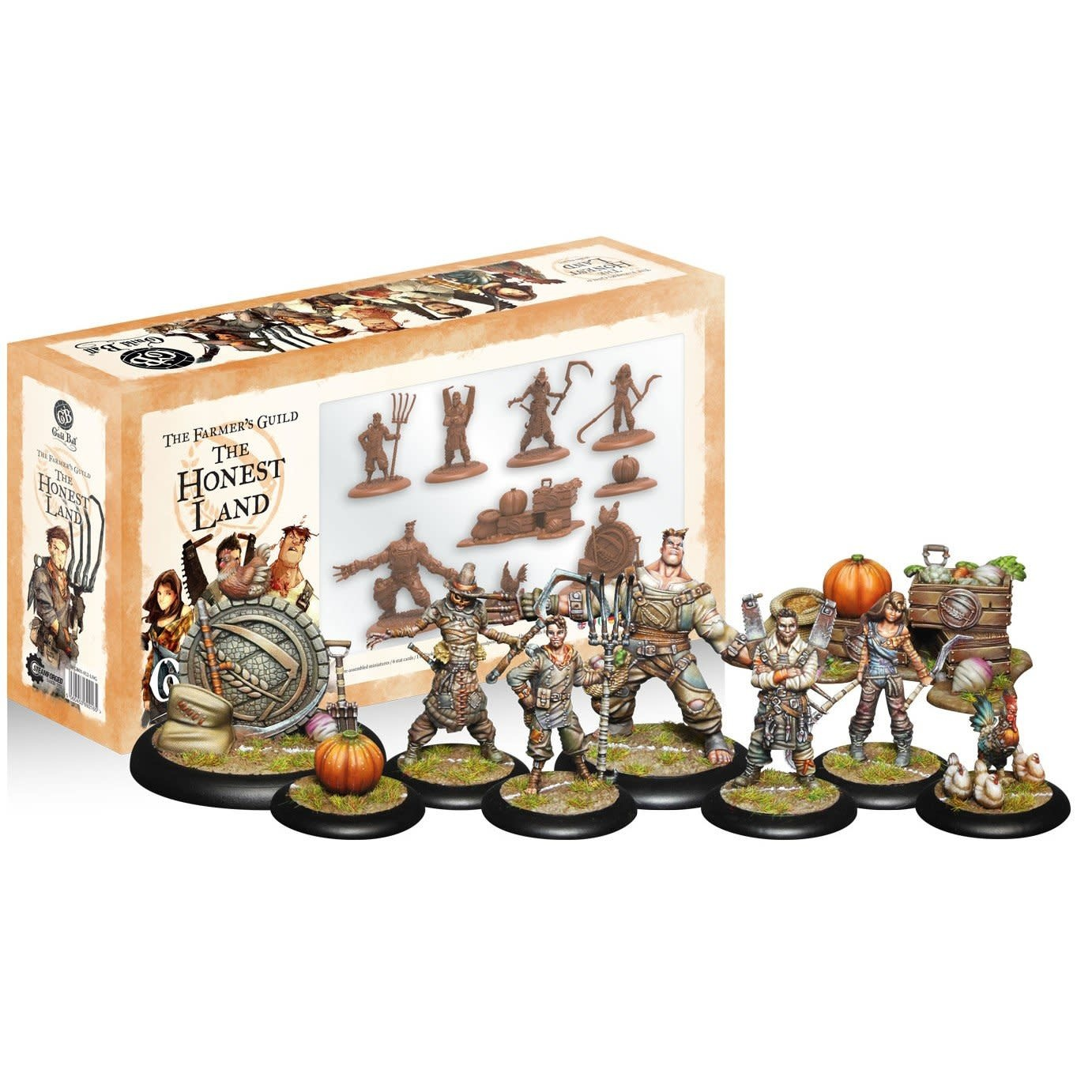 Steamforged GuildBall: Farmers Guild- The Honest Land