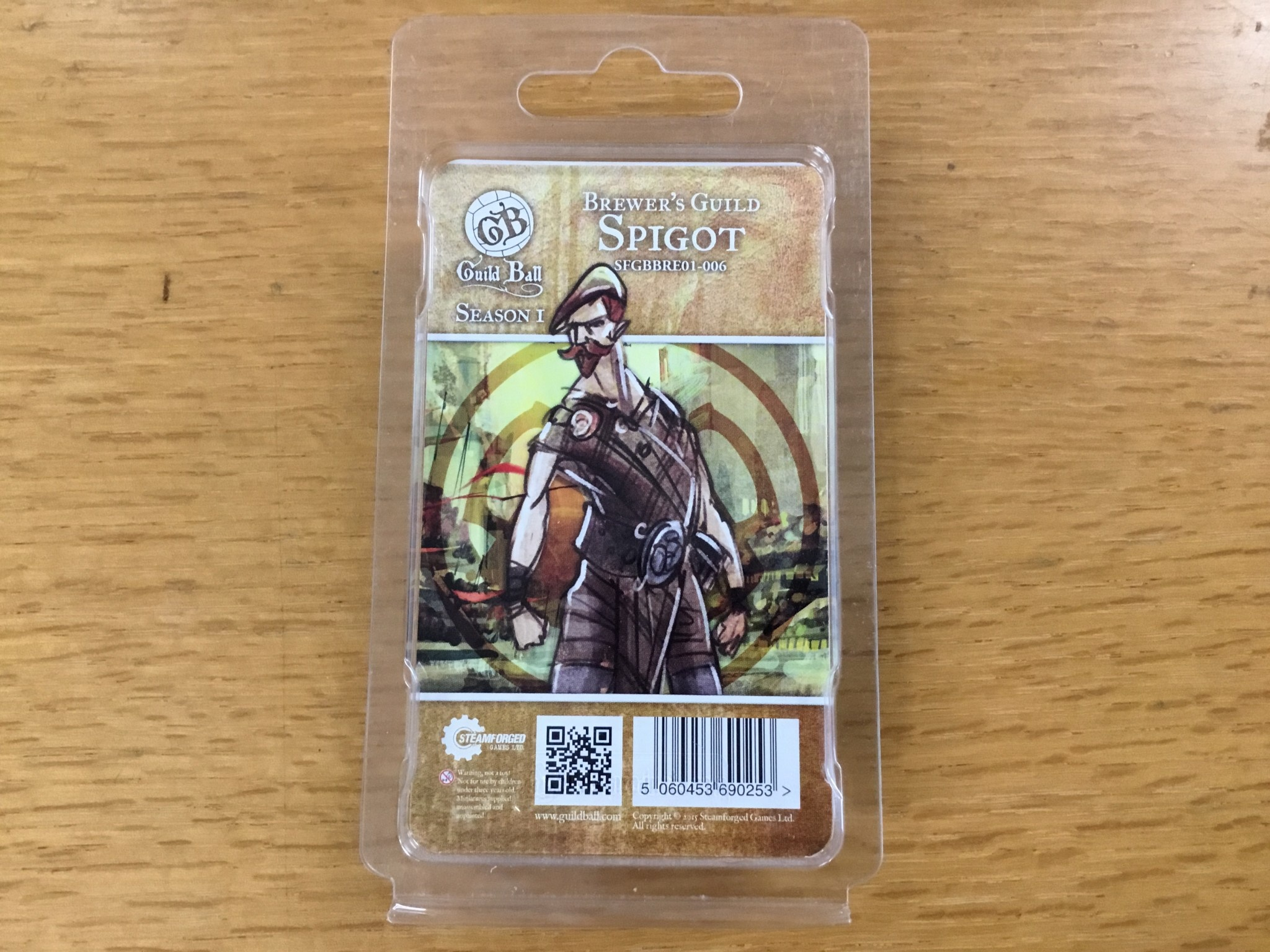 Steamforged GuildBall: Brewers Guild- Spigot