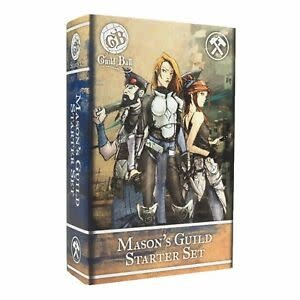 Steamforged GuildBall: Mason's Guild Starter Set
