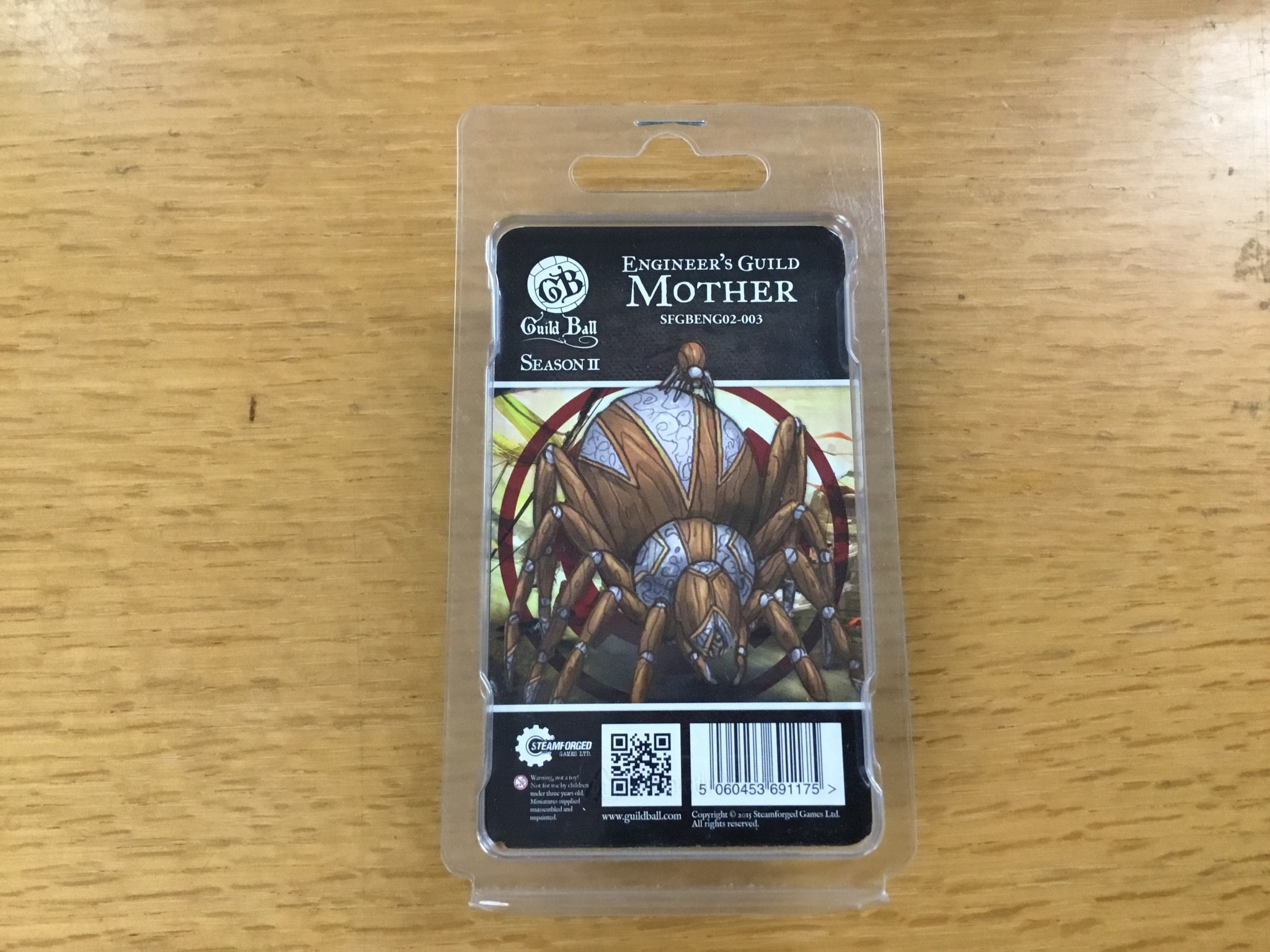 Steamforged GuildBall: Engineers guild- Mother
