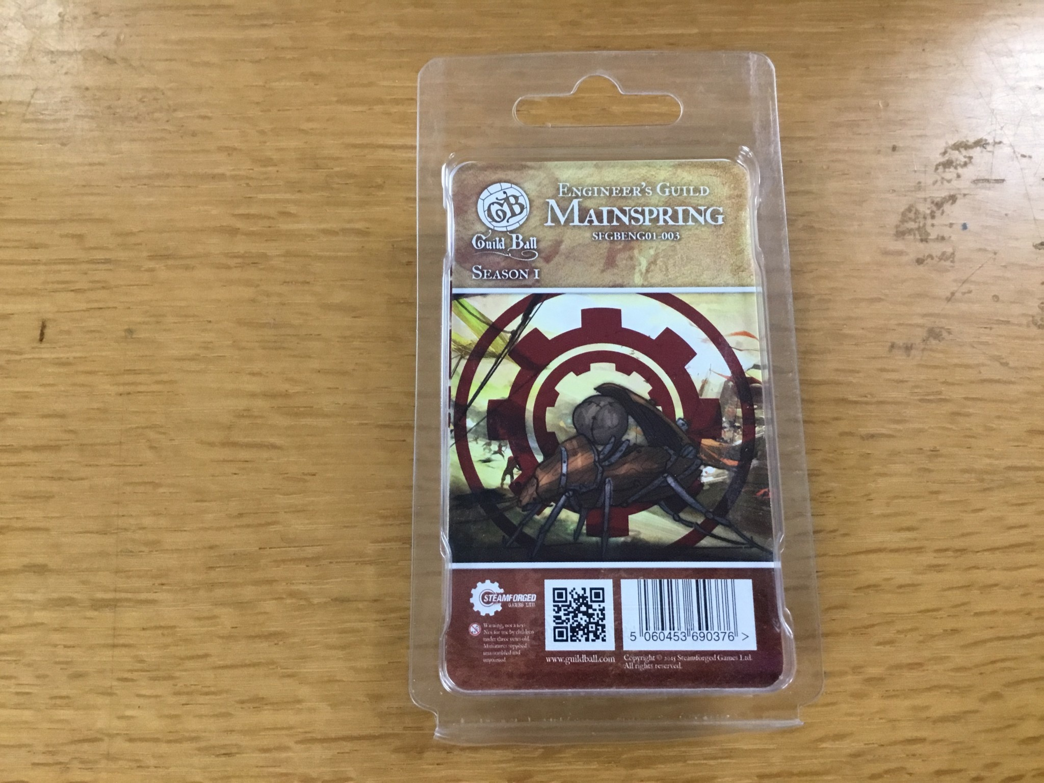 Steamforged GuildBall: Engineers Guild- Mainspring