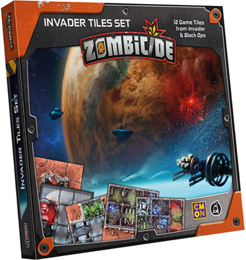 CMON Zombicide Invader: Tiles pack