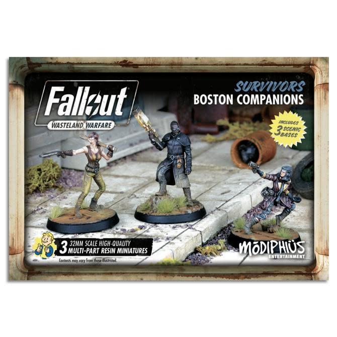 Modiphius Fallout Wasteland Warfare: Survivors- Boston Companions