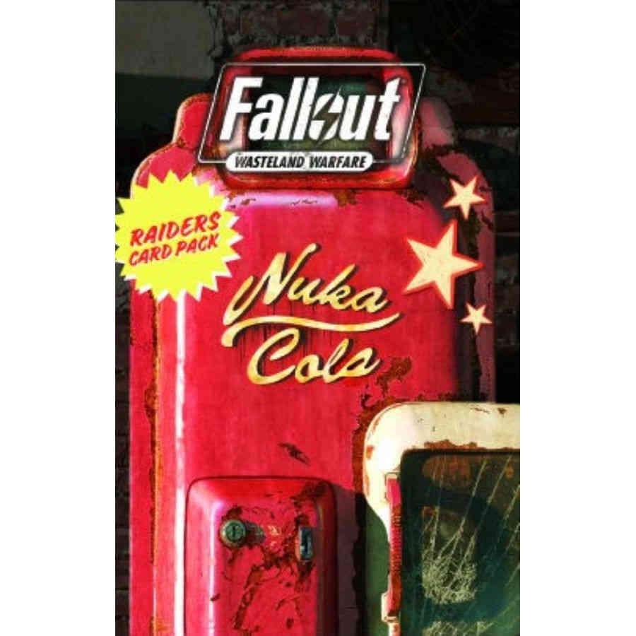 Modiphius Fallout Wasteland Warfare: Raiders- Wave Card Pack