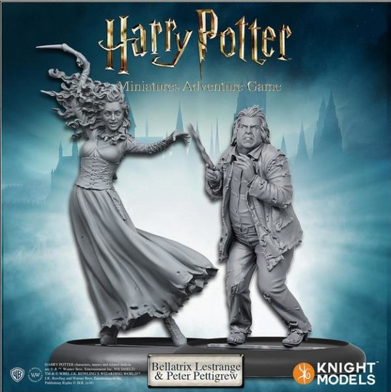 Knight Models Harry Potter Miniatures Adventure Game: Bellatrix & Wormtail