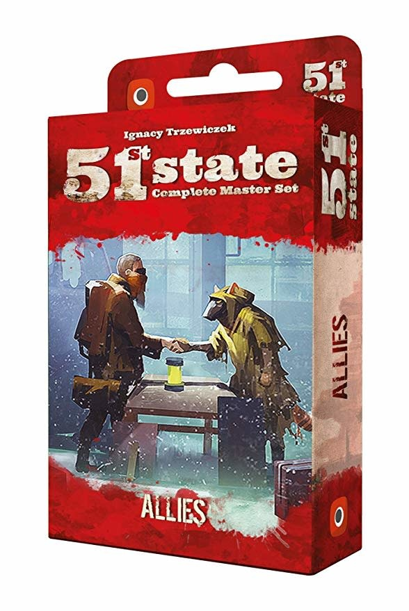 Portal Games 51st State: Allies