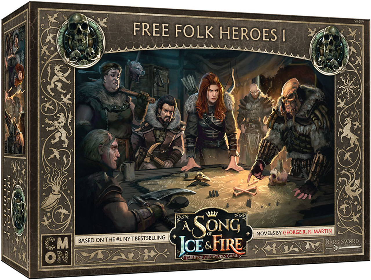 CMON A Song of Ice & Fire: Free Folk Heroes I