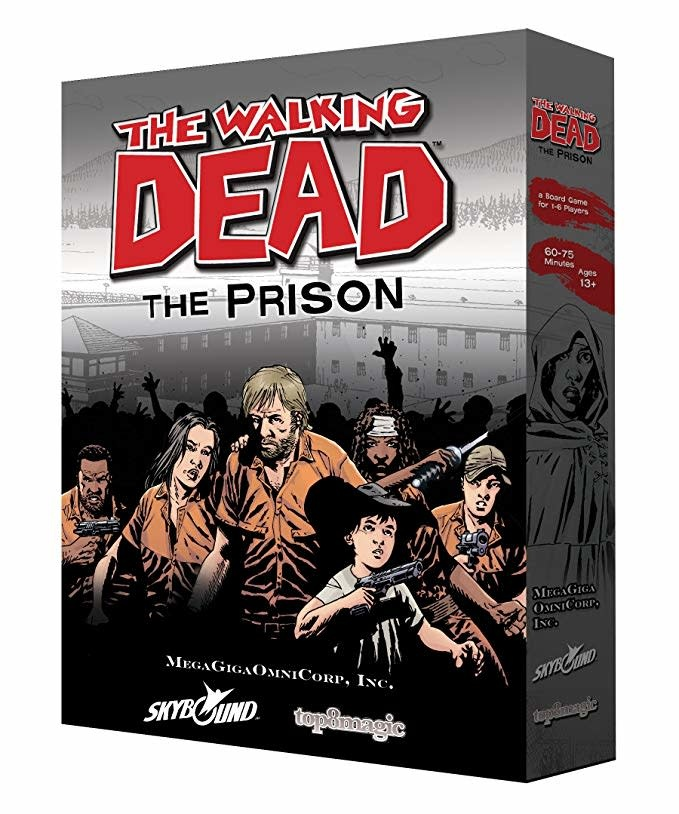 Zman The Walking Dead- The Prison