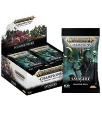 Games Workshop Warhammmer Champions CCG: Savagery Booster