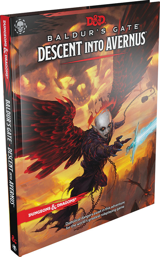 Wizards of the Coast D&D RPG Book: Baldur's Gate Descent into Avernus