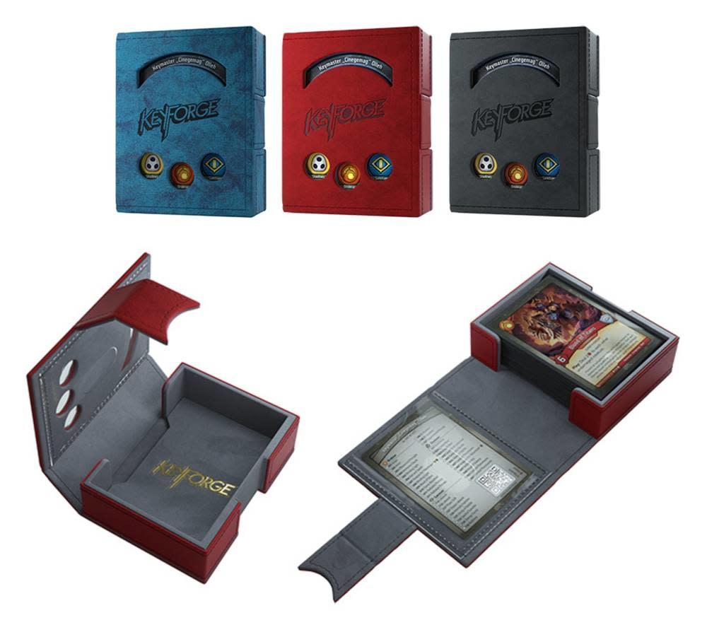 Gamegenic Gamegenic: Keyforge Deck Book blue