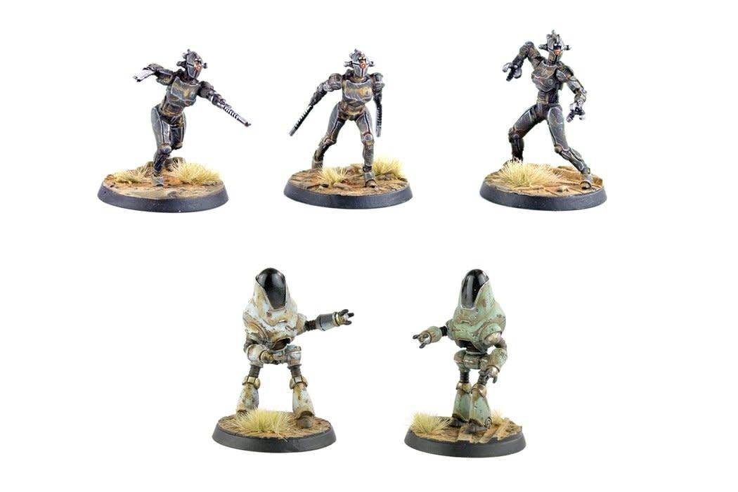 Modiphius Fallout Wasteland Warfare: Robots- Assaultrons & Protectrons