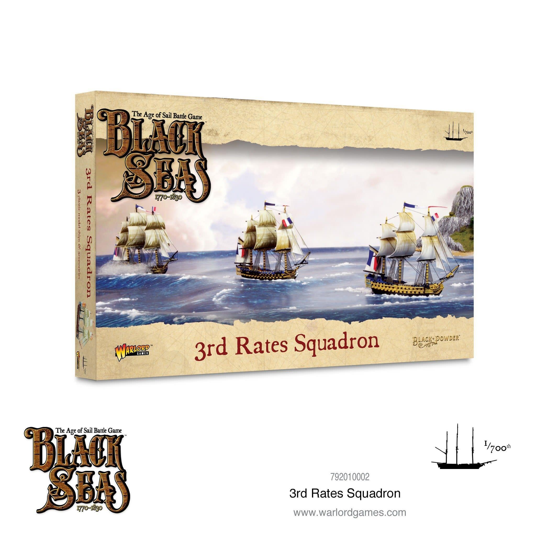 Warlord games Black Seas: 3rd Rates Squadron