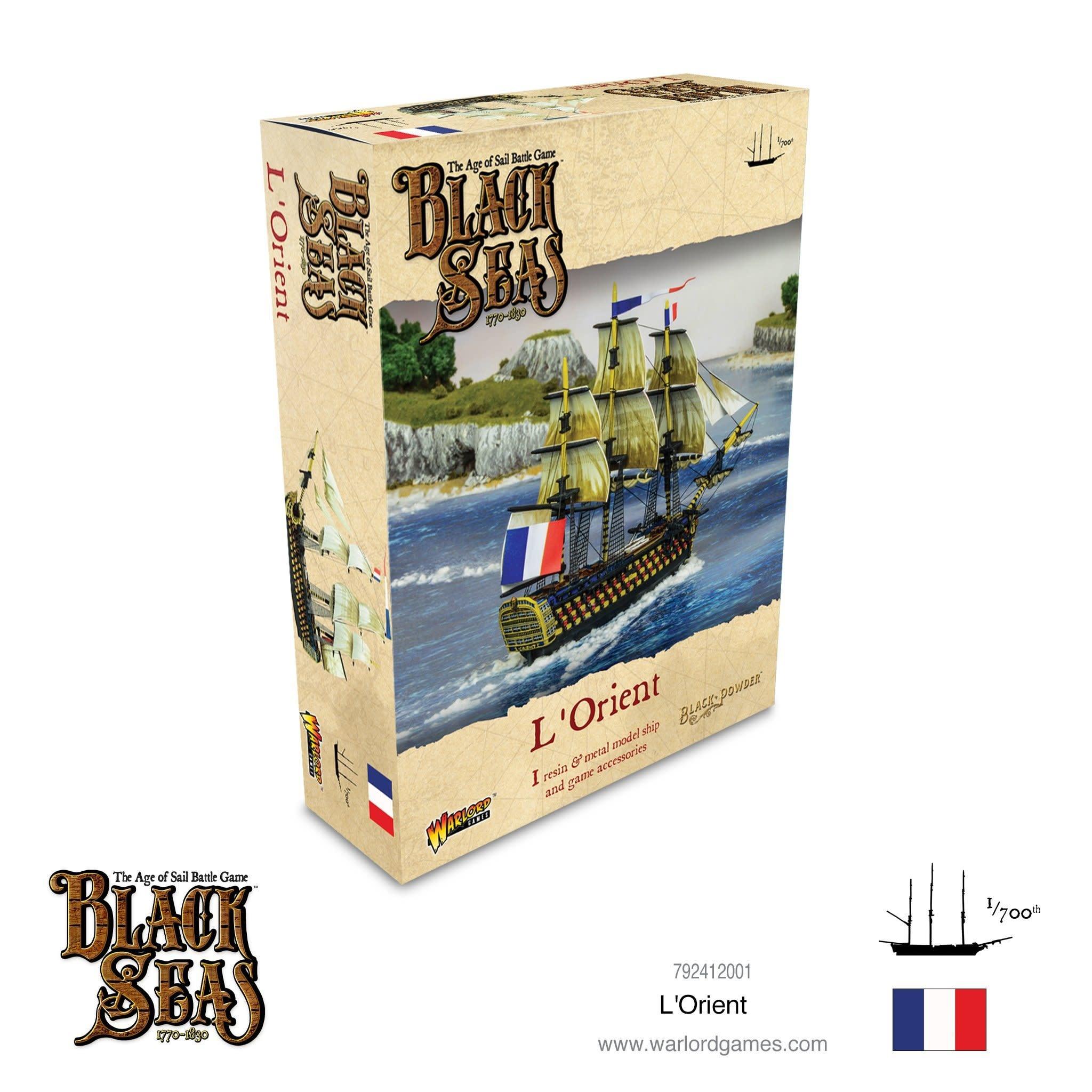 Warlord games Black Seas: L'Orient