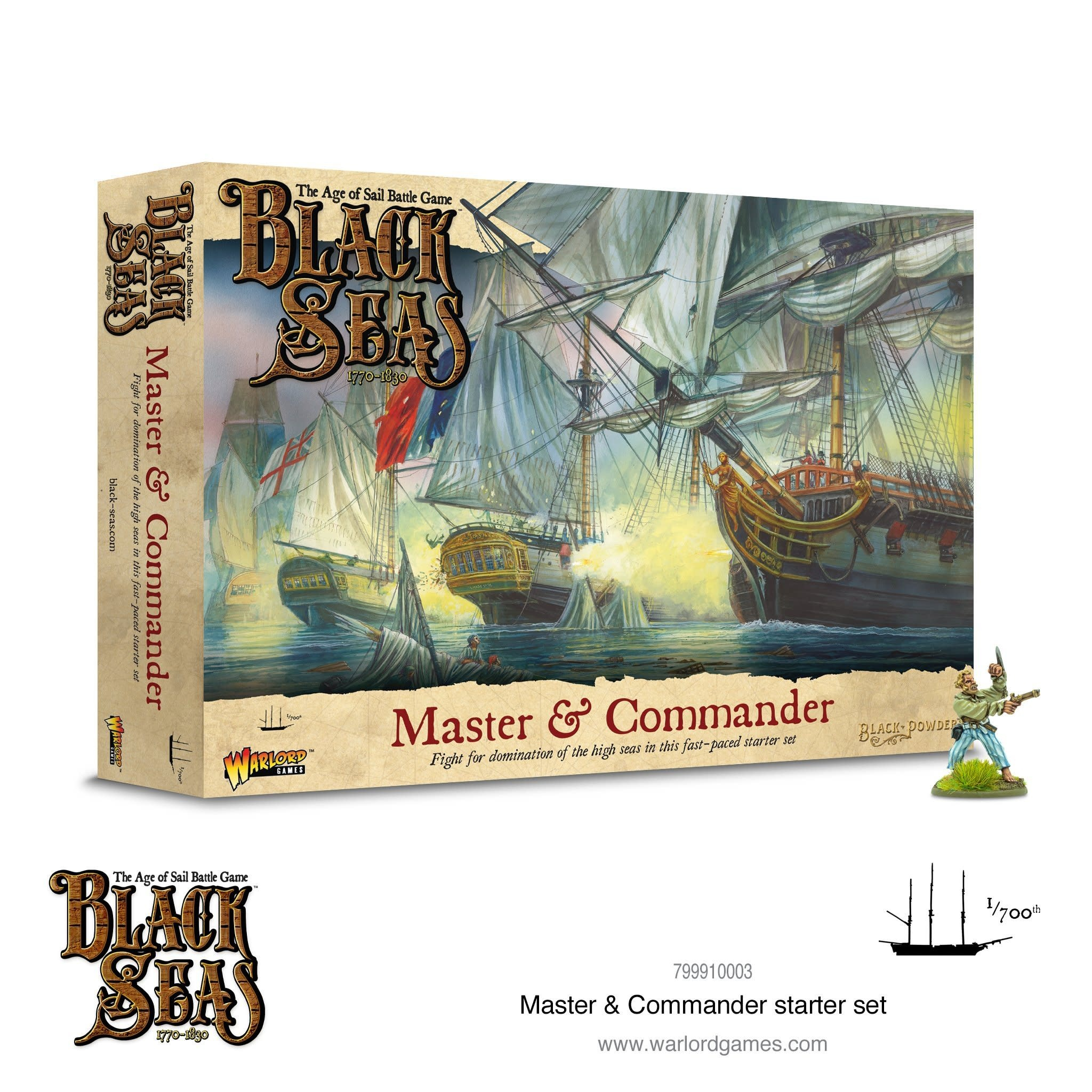 Warlord games Black Seas: Master & Commander starter set